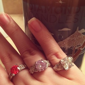 CocoFeed: Dug out the $10 rings. Entered in all three codes and don't win anything in the