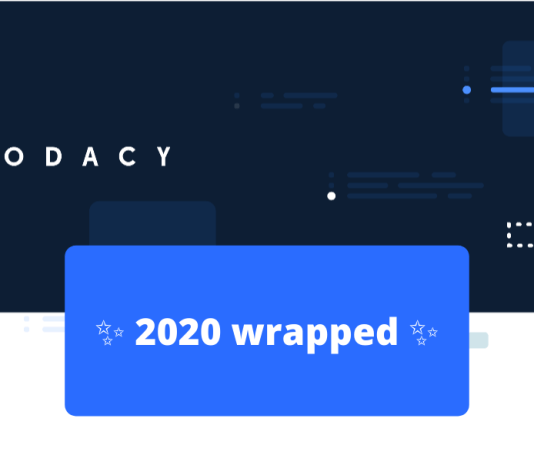 codacy 2020 wrapped