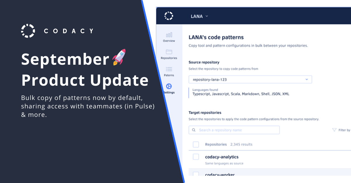 September Product Update
