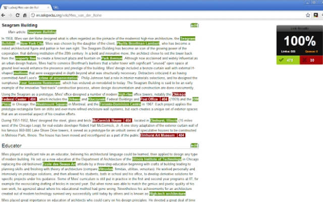Check My Links chrome extension - codedthemes
