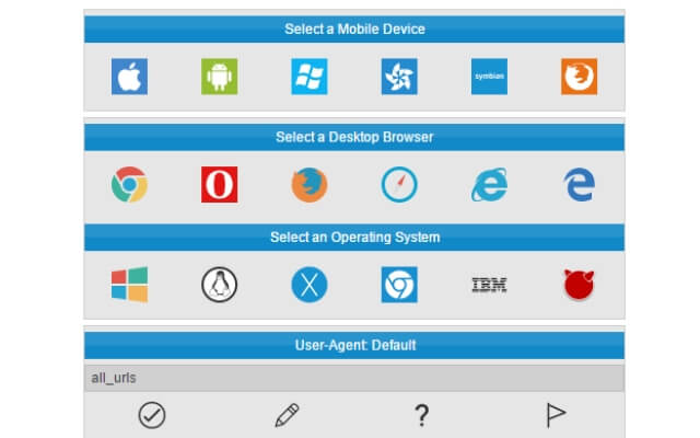 User agent Switcher chrome extension - codedthemes