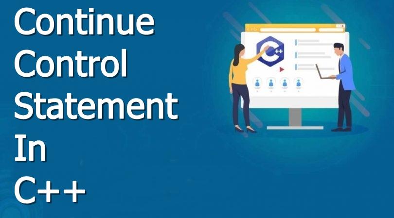 continue control statement in c++