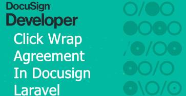 click wrap agreement in docusign