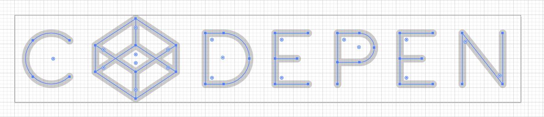 CodePen Logo Grid