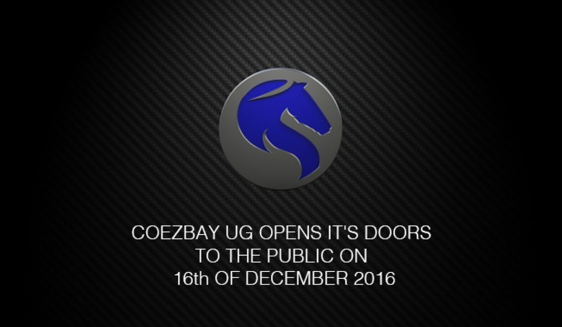 COEZBAY Official Company Opening 16 12 2016