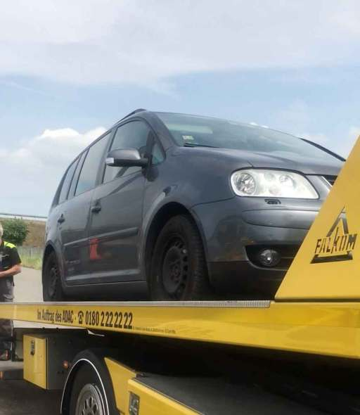 Towing service of the ADAC