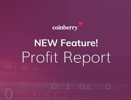 cryptocurrency exchange profit report