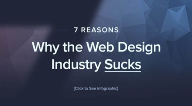 Yes, The Web Design Business Sucks