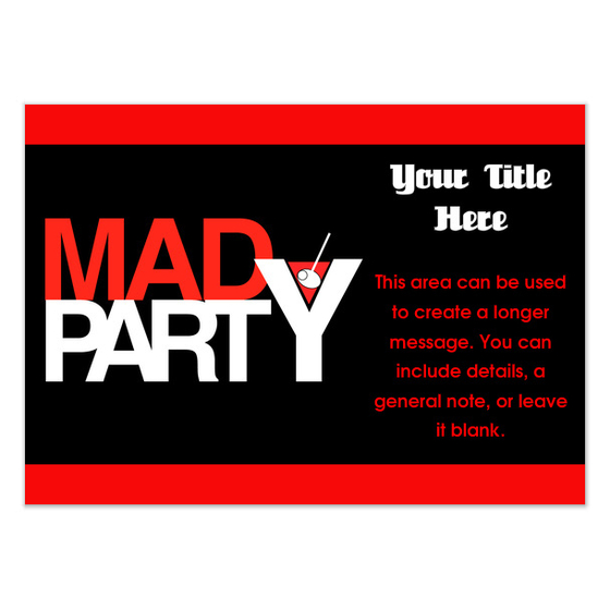 2900588.more views.invite.template How to Throw a Mad Men Party at Your Home