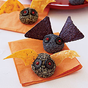 batbites 25 Good, Gross, and Ghoulish Halloween Party Food Ideas