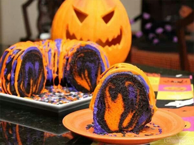 dessert19 25 Good, Gross, and Ghoulish Halloween Party Food Ideas