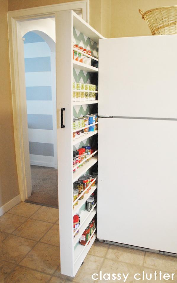 Can Storage in Kitchen