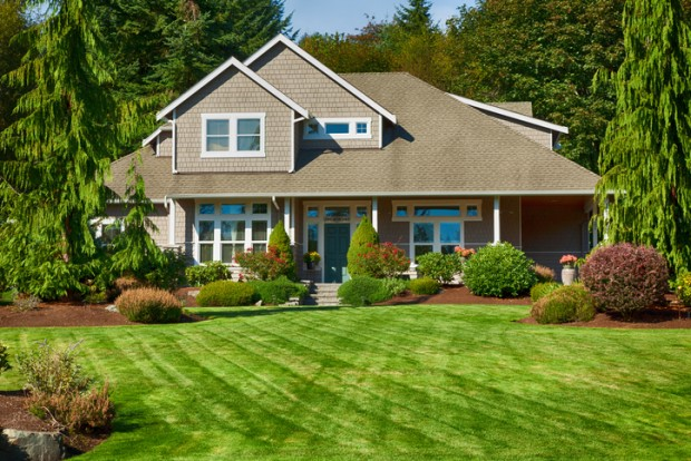Beautiful landscaped upscale home