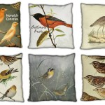 Feather your nest with vintage bird pillows