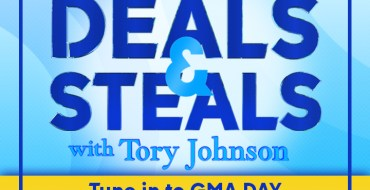GMA Day logo with Deals & Steals with Tory Johnson