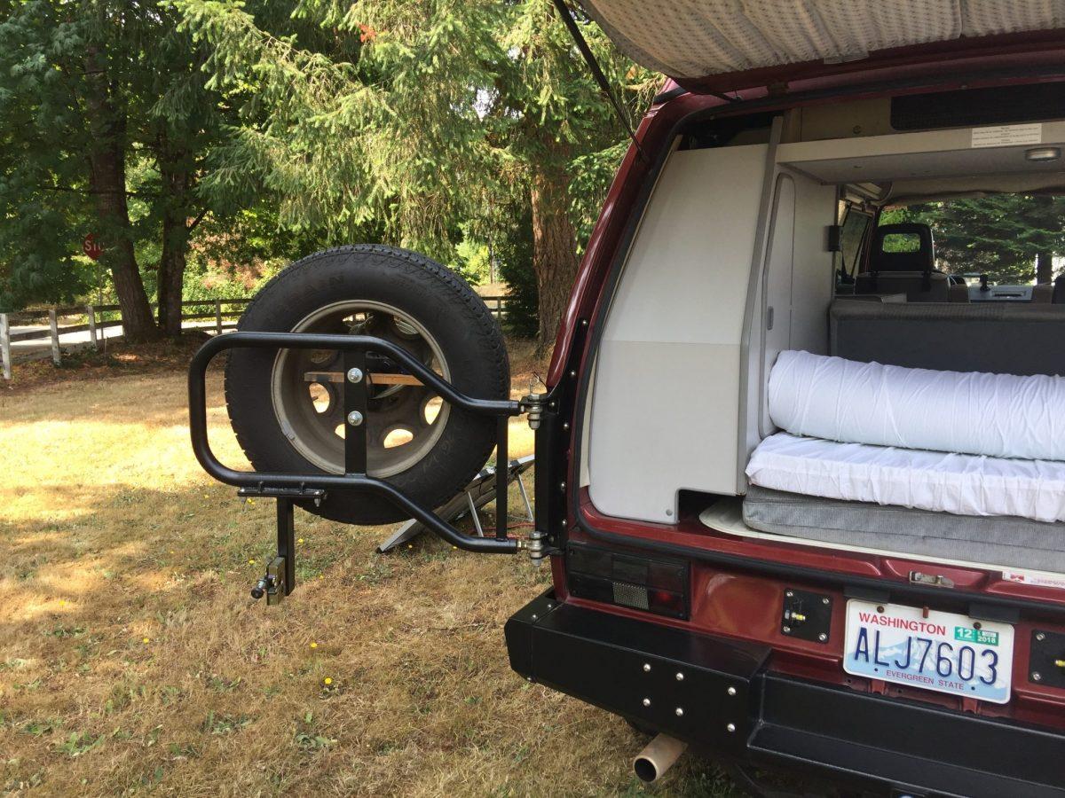 RMW Swing away spare tire mount