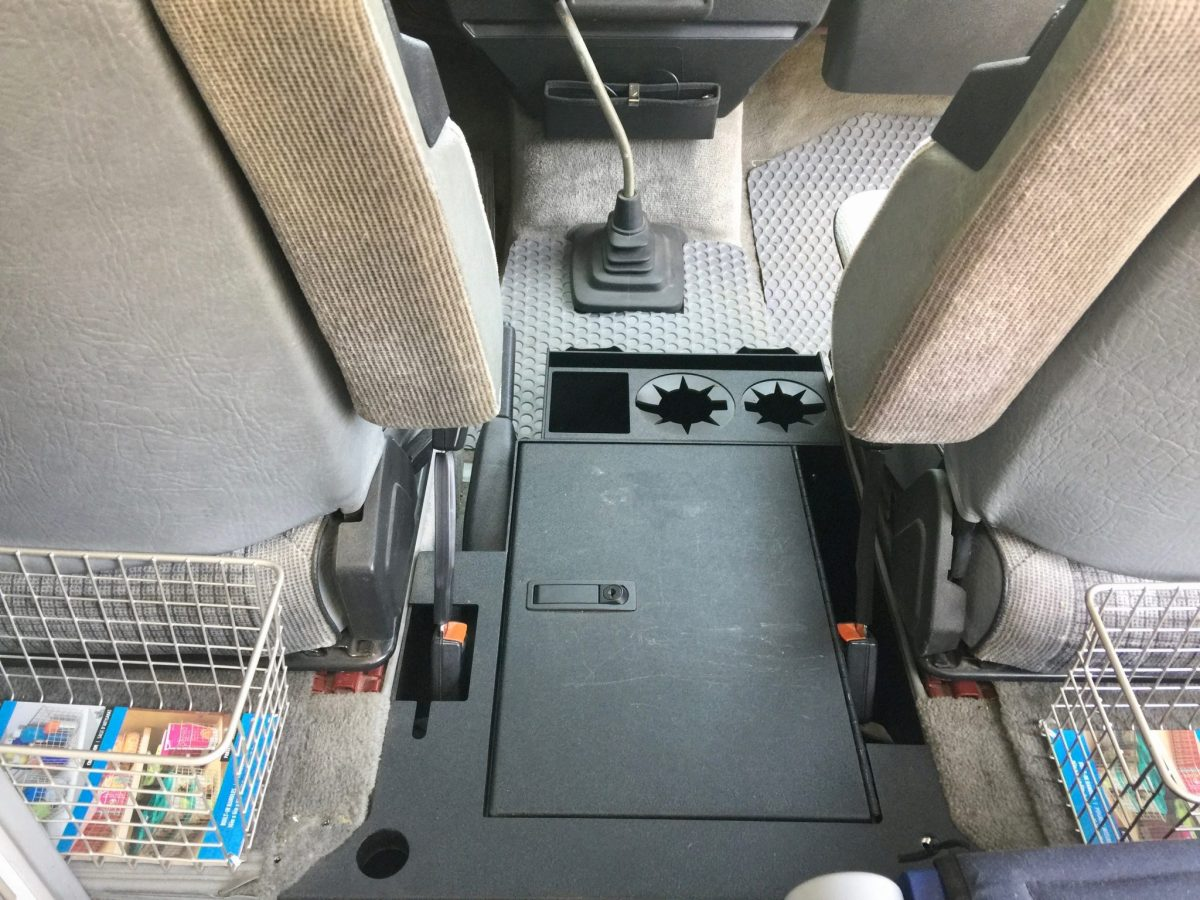 Vanagon Life steel center console
