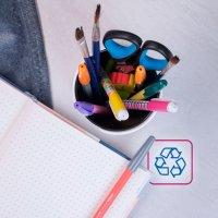 como reciclar o material escolar