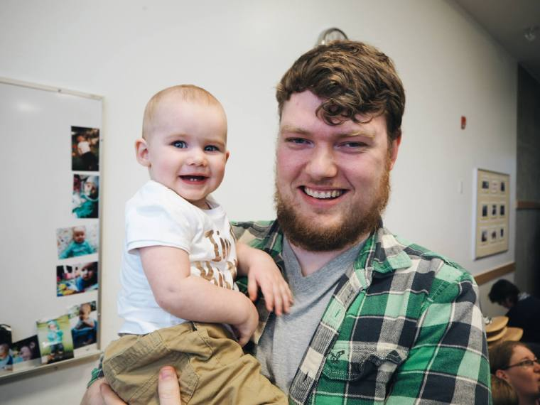 Jordan Shaw (and Baby Lucy)