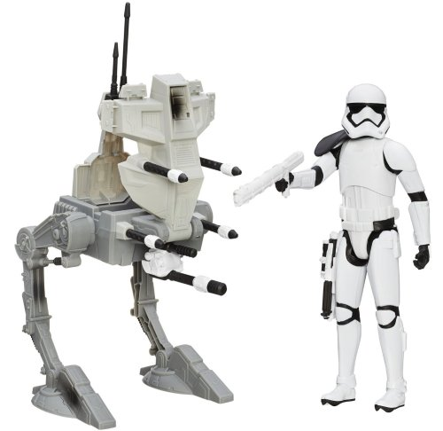"Star Wars Assault Walker and 12"" Figure"
