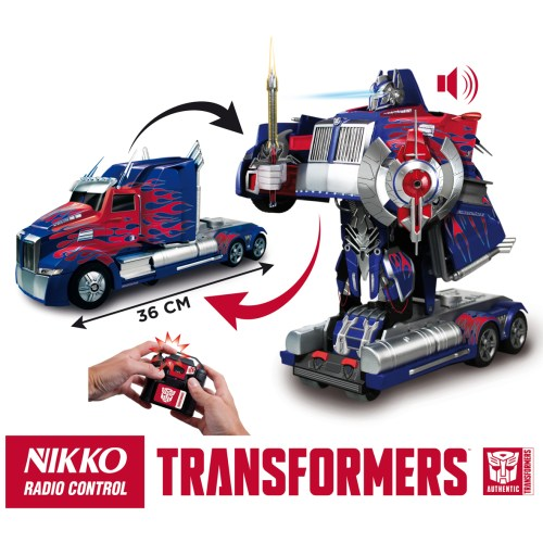 Transformers Optimus Prime Radio Control