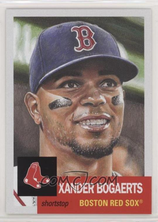 """2012 Leaf /""""Young Stars/"""" National PROMOTIONAL RC Card XANDER BOGAERTS"""