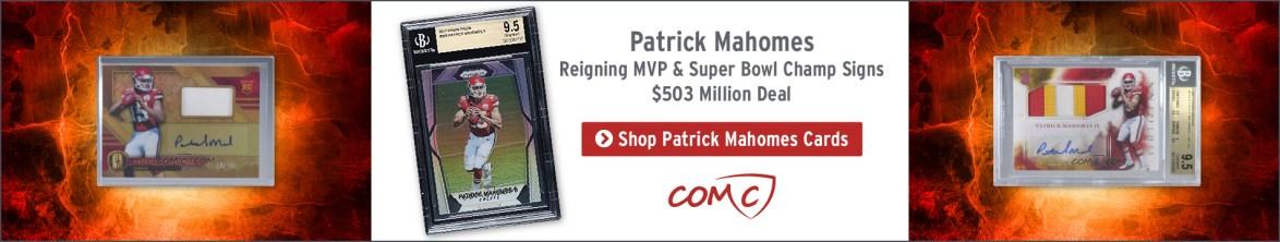Patrick Mahomes Trading Cards