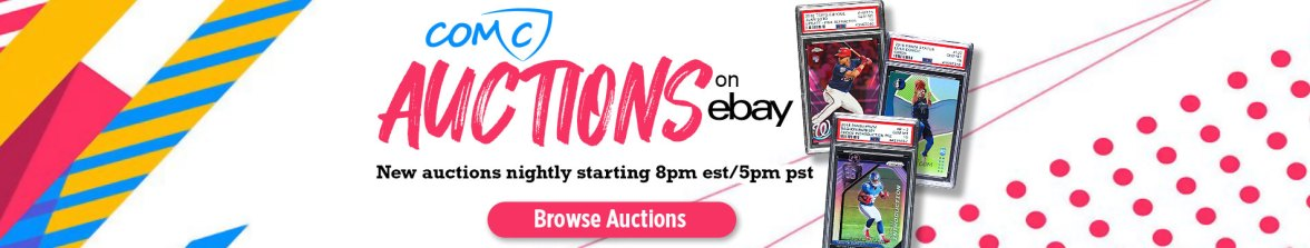 COMC Auctions On eBay, eBay, Auctions, Trading Cards, Sports Cards, The Hobby,