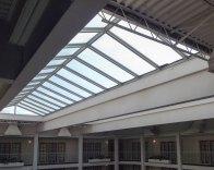 Ridge Glass Skylight Interior