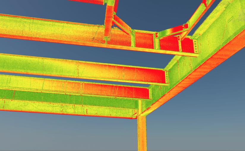 Ehitise teostuskontroll laserskänneriga
