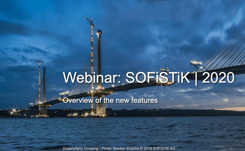 Webinar 10.10.2019: SOFiSTiK | 2020  uus versioon