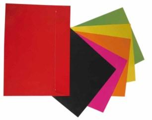 enveloppe de couleur en format A4