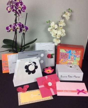 Emballages cadeaux pour la Fête des Mères