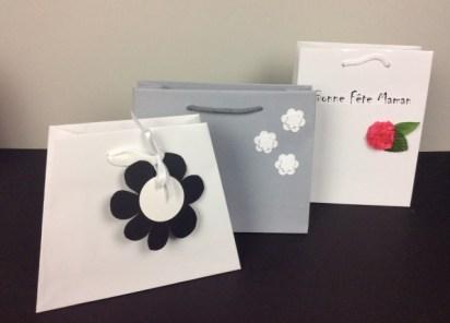 sac papier luxe customisés pour un paquet cadeau unique