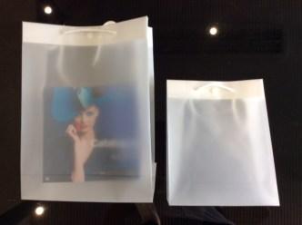 sac cadeau translucide