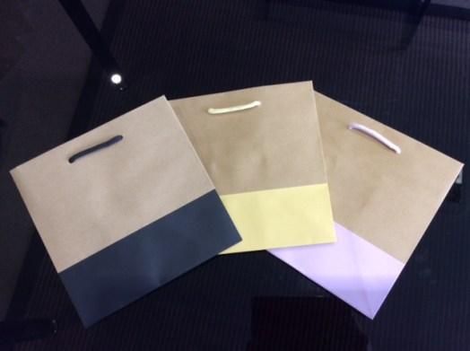 Sacs en kraft brun , base couleur