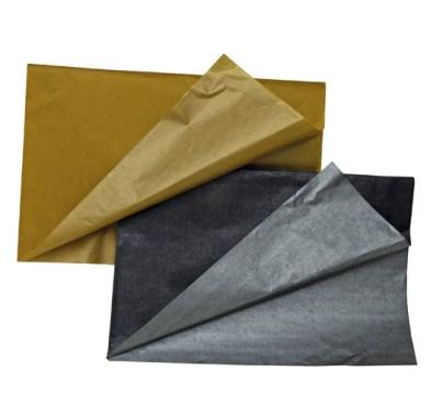 papiers de soie bicolores