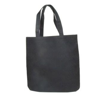 sac noir en feutre réutilisable