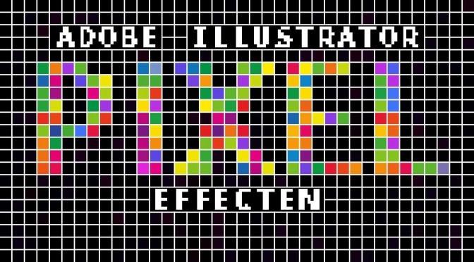 Adobe Illustrator en Bitmap Fonts. Deel 1