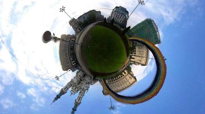 Fotobubbel: Spherevol fotograferen