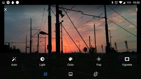 Een foto bewerken in Google Photos.