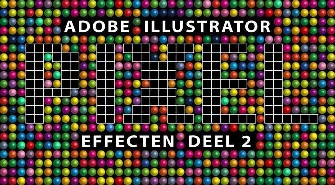 Adobe Illustrator en Bitmap Fonts. Deel 2