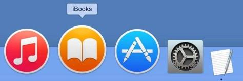 Houd de cursor op een symbool in het dock en u ziet de naam van de applicatie verschijnen.