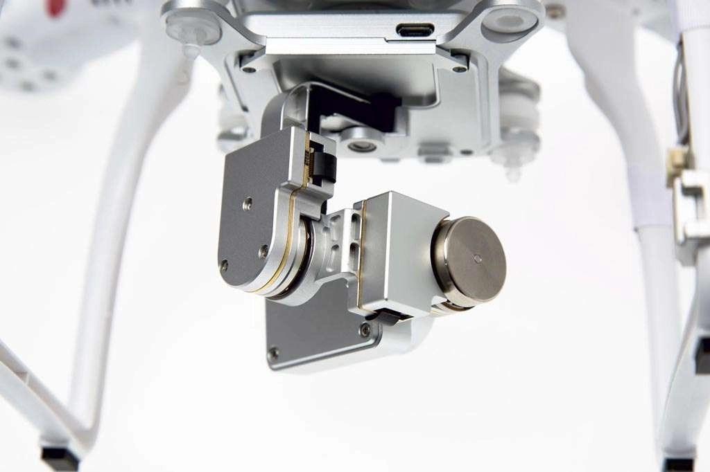 Detailopname van een gimbal. Een delicaat stukje mechatronica! Bron: DJI.