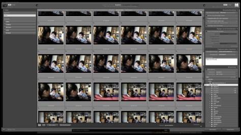 De 'oude' manier van het importeren van foto's (een screendump op de Mac).