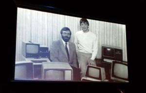 Paul Allen en Bill Gates.