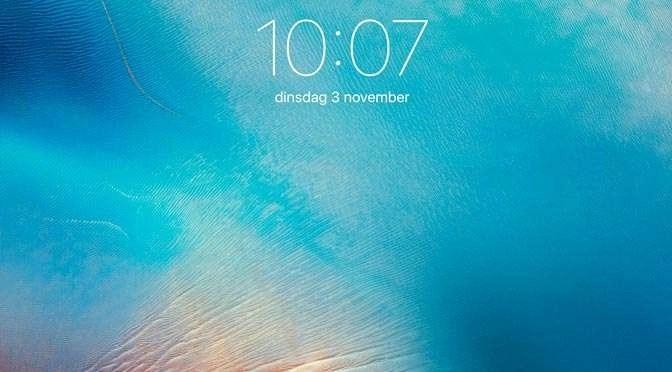 Ontdek iOS 9: Apple ID beheren