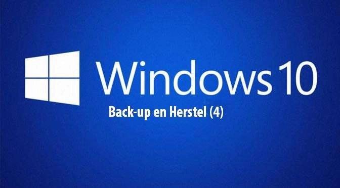 Windows 10: Back-up en herstel (4)