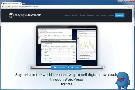 Als u alleen maar downloads wilt gaan verkopen in uw webshop, is Easy Digital Downloads een optie.