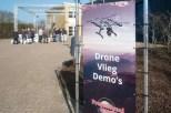 Drone-vliegdemo's